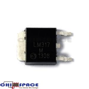 LM317M TO-252 Adjustable Regulator IC