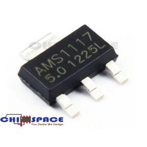 AMS1117 5.0V SOT-223 1A Low Dropout Regulator