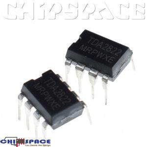 TDA2822M DIP-8 Dual Power Amplifier IC