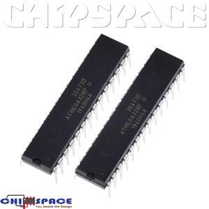 ATMEGA328P-PU DIP-28 AVR Programmable Flash MCU