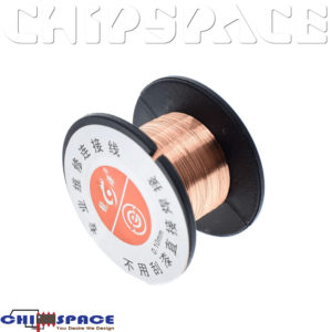PCB 0.1mm Link Copper Soldering Wire Role