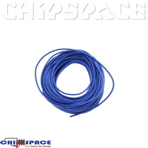 1M UL-1007 24AWG Hook-up Wire (Blue)