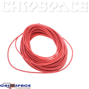 1M UL-1007 24AWG Hook-up Wire (Red)