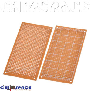 5x10cm Single Side Copper Tinned Plate Joint hole PCB