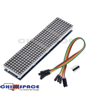 MAX7219 4 in 1 Dot Matrix Module with 5P Line