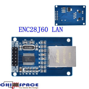 ENC28J60 SPI interface Ethernet module