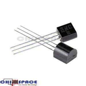 L78L05 Linear Voltage Regulators 5.0V 0.1A TO-92