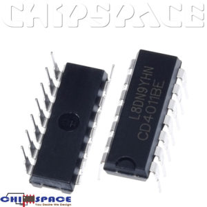 CD4011BE DIP-14 NAND Gate IC