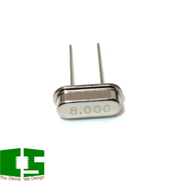 8MHz 10ppm 20pF Through Hole DIP Crystal Resonator