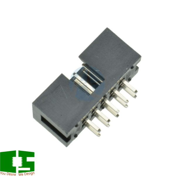 Header 10 pin 2.54mm Pitch IDC ISP Connector