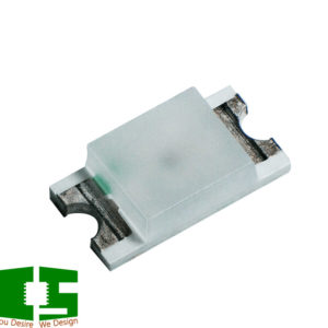 Green 573nm 1206 SMD Light Emitting Diodes (LED)