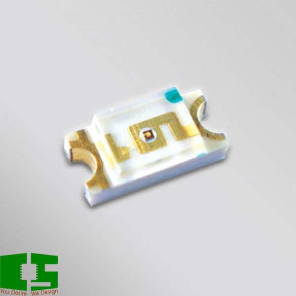 Yellow 590nm 1206 Light Emitting Diode (LED)