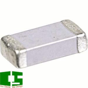 22pF 5% 1kV C0G 1206 Multilayer Ceramic SMD Capacitor