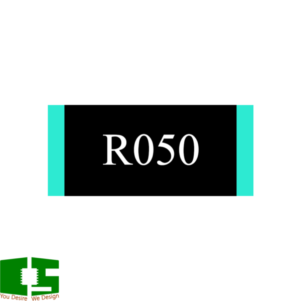 0.05R 1% 1W 2512 Current Sense SMD Resistor
