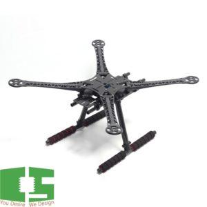 SK500 500mm PCB Version Quadcopter Frame with Carbon Fiber Landing