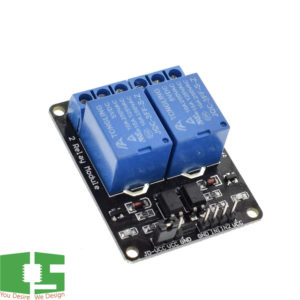 5v 2 Channel Relay Module with Optocoupler Relay Output