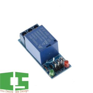 12v 1 Channel Relay Module with Optocoupler Relay Output