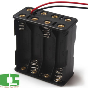 8 x AAA 12v Battery Holder Box Case Back to Back