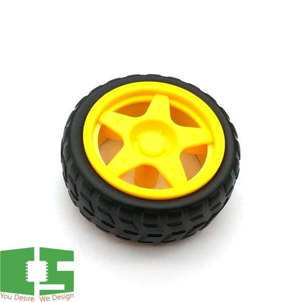 Robot Car Wheels Diameter 65MM Thickness 28MM
