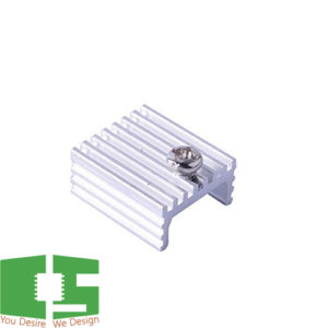 TO-220 Aluminum Heat Sink 17x15x7mm with M3 Screw