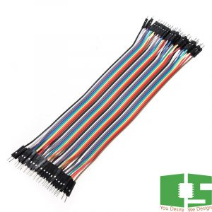 Male to Male 20cm Dupont 40 Pin Jumper Wire Connector