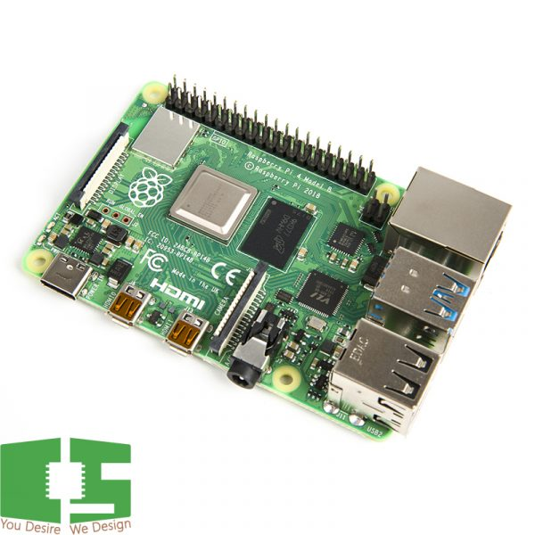Raspberry Pi 4B Single Board Computer 2GB DDR4 RAM (Original UK)