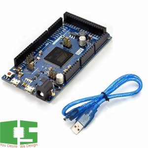 Arduino Due R3 Board AT91SAM3X8E 32 Bit With USB Cable Set Chipspace