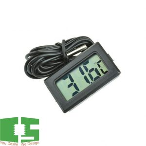 Digital Thermometer with LCD and 1M Probe for Fish Tank Aquarium Chipspace