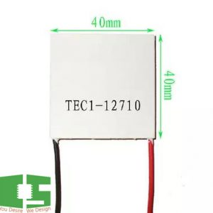 TEC 12710 Thermoelectric Cooler Peltier 40*40mm12V 10A 100W Chipspace