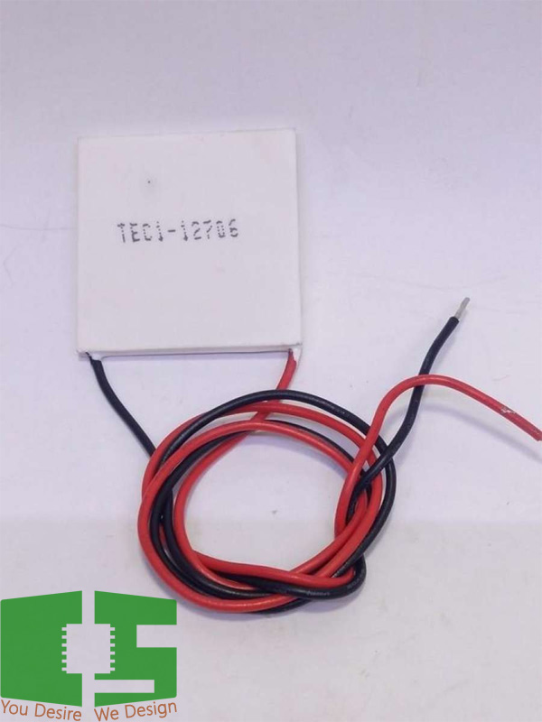 TEC 12706 Thermoelectric Cooler Peltier 40*40mm 12V 6A 60W Chipspace