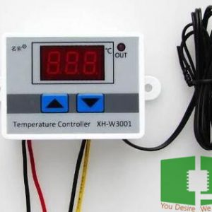 XH-W3001 W3001 Digital Temperature Thermostat Controller Switch 220VAC 10A Chipspace