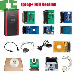 V84 Iprog+ Pro Programmer Full Version with Probes Adapters + IPROG Plus PCF79xx SD Card Adapter + Universal RDIF Adapter Chipspace