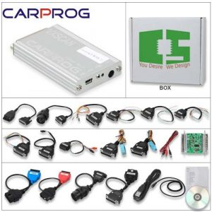 Carprog Programmer Full adapters support airbag reset and Car Radio Chipspace